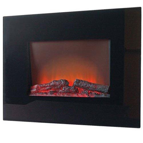 ALLEN GROUP INTL EA1119R 120V 60 Hz West Pointe Wall Mount Fireplace, 26''