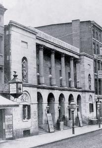 Chestnut Street Theatre, Philadelphia, PA Paper poster printed on 12 x 18 - Chestnut Philadelphia Street Stores