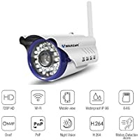 Wireless Home Surveillance Outdoor Camera-Vstarcam C7815WIP for Outdoor Security, Store Manage, Company Guard including IP66 Waterproof,  Night Vision, Motion Alarm, 1 Year Warranty