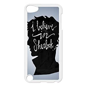 C-EUR Customized Print Sherlock Pattern Hard Case for iPod Touch 5