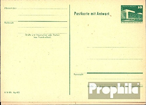 DDR P85 Official Postcard unused 1982 Structures (documents philatelic covers for collectors)