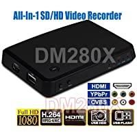Premium HD/SD Componet YPbPr Composite RCA HDMI DVI Video Recorder