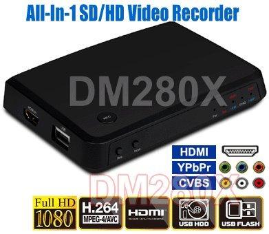 Premium HD/SD Componet YPbPr Composite RCA HDMI DVI Video Re