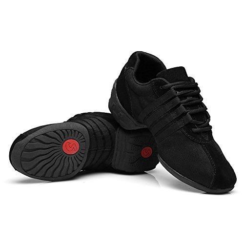 Jazz c Black Shoes Women's Sneakers and Ballroom A Boost Model Sports Sneaker T01 Dance Men Performance YKXLM Modern Dance ETUwq0xPO
