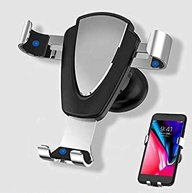 Huawei Universal Air Vent Car Mount Phone Holder || for iPhone Samsung Moto Smartphones LG Nokia Gray