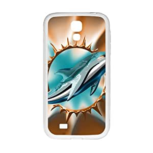EROYI Miami Dolphins Cell Phone Case for Samsung Galaxy S4