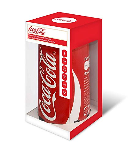 Coca-Cola Can Bluetooth Speaker