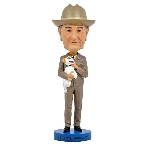 Action Figure - Bobble Head - Lyndon B. Johnson New Licensed 1079