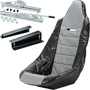 JEGS Performance Products 70200K6 Pro High Back Race Seat Kit ()
