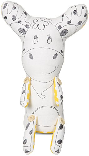 Pavilion Gift Company Stitched & Stuffed Animal Toy, Murphy The Moose/Yellow (Moose Murphy)