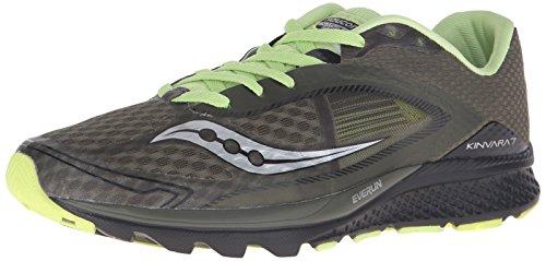 Saucony Men's Kinvara 7 Running Shoe - Olive/Black - 7.5 ...