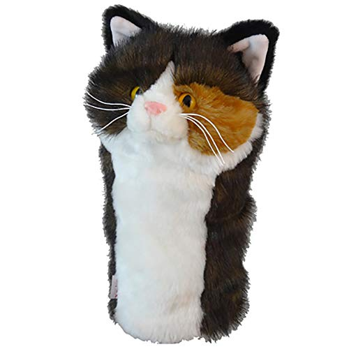 Oversized Torti Cat Headcover - Driver Cover Protection