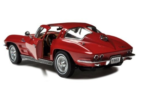 - 1963 Chevrolet Corvette Sting Ray Split Window Red 1/24