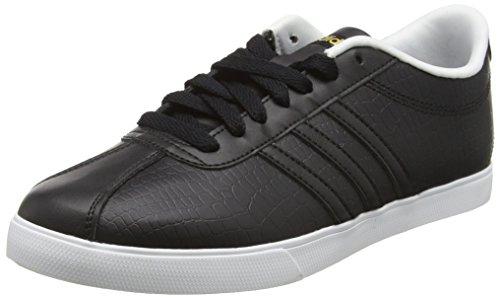 Core Black Schwarz Schwarz Damen Courtset Gold adidas W Core Black Matte Turnschuhe zUq87nZ