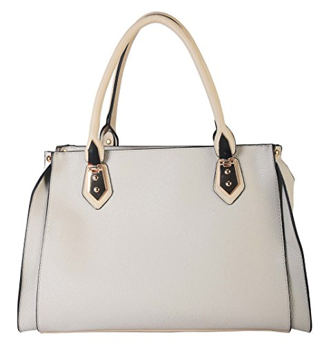 diophy-pu-leather-dual-compartment-zipper-closure-tote-womens-handbag-purse-lz-3173-beige
