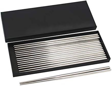 Bingolar 304 Palillos de Metal de Acero Inoxidable,Palillos ...