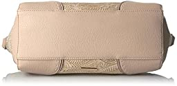 Jessica Simpson Lani Satchel, Blush Flower Tooled