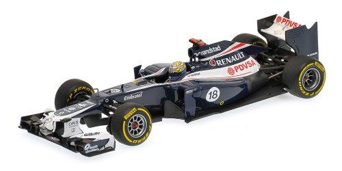 Williams 1:43 Scale F1 Team Renault FW34 - Pastor Maldonado 2012 - Williams F1 Team