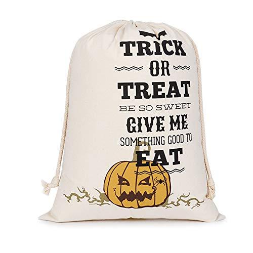 suesses suessigkeits Halloween Scherzetto Pergamena Borse Coulisse Rate di Halloween Sacchi altrimenti S06 per Borsa dà tasche Regali Regalo S zucca 0ft8wTfq