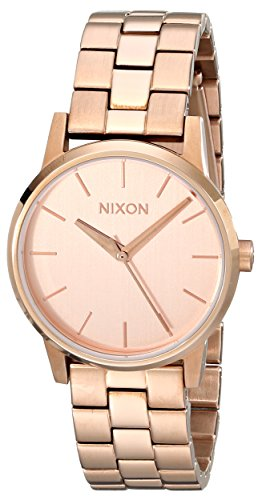 Nixon Women's A361897 Kensington Stainless Steel Small (Nixon Kensington Rose Gold Watch)