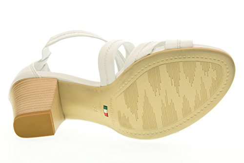 P717590D NERO chaussures sandales Blanc 707 GIARDINI wt16qtv4