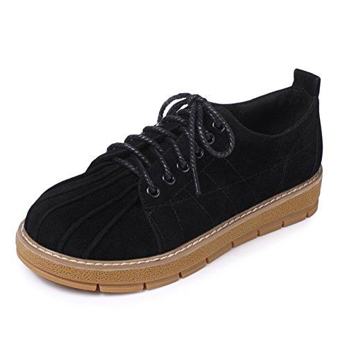 zapatos de fondo plano profundos/zapatos de corte bajo las correas del viento College B