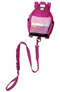 BRICA By-My-Side Safety Harness Backpack, Pink (Discontinued by Manufacturer)