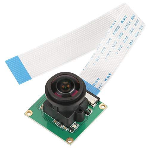 Wandisy Camera Module Board, 5MP High Definition Camera Module Board Wide Angle 175° for Raspberry Pi B 3/2