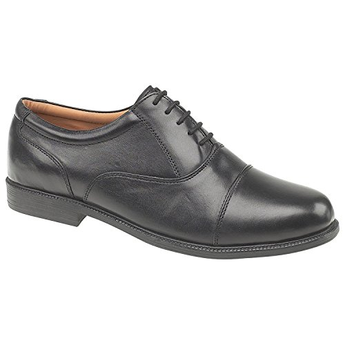 Amblers Lace-Up Lined Mens Shoes - Black - Size 10