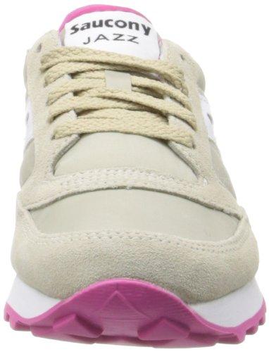 Saucony Originals Damens, Saucony Jazz Original Damens, Originals Damen Sneakers Tan/Weiß/Pink d5b3f8