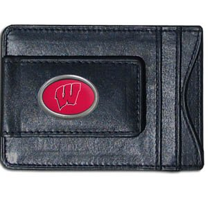 NCAA Wisconsin Badgers Cash and Card Holder