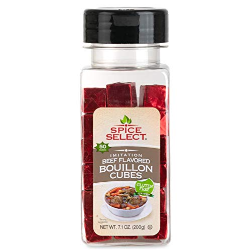(Spice Select Beef Bouillon Powdered Cubes , 50 Count)
