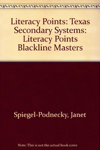 Literacy Points: Texas Secondary Systems: Literacy Points Blackline Masters (Texas Secondary ()