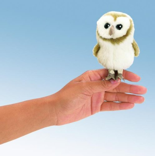 Folkmanis puppets, Fingerpuppe Schleiereule [Spielzeug]
