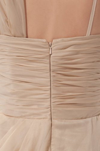aus Designes Ballkleid Romantishce Abendkleid Chiffon Bodenlange Rw6qfOx6I