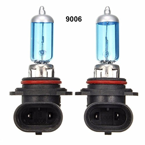 WTG 9006 1 PAIR 100W Super White Halogen OEM Headlight Light Bulbs (9006-100w)