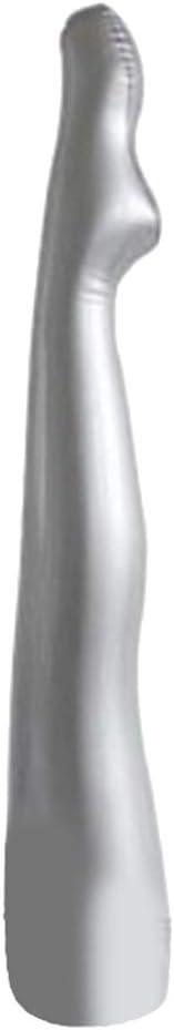 Leicht und Stabil perfk Erwachsene Schneiderpuppe Bein Aufblasbare Schaufensterpuppe Bein-Modell aus PVC-Kunststoff