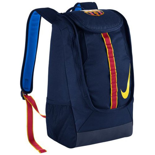 Nike FC Barcelona Allegiance Shield Compact Soccer Backpack  (Blue)