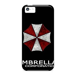 New WWOStore Super Strong Umbrella Corporation Tpu Case Cover For Iphone 5c