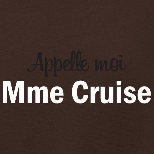 Apelle Moi Madame Cruise - Femme T-Shirt - Maron Foncé - L