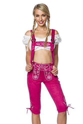 Heels-Perfect - Zuecos de Poliéster para mujer Rosa