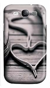 carry Samsung S3 cases Heart Love 3D cover custom Samsung S3