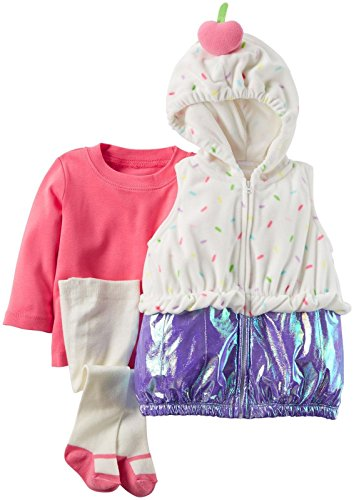 Carter's Baby Girls' Costumes 119g119, Cupcake, 24
