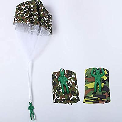 B bangcool 4PCS Kids Parachute Toy Funny Creative Flying Toy Outdoor Play Toy Throwing Toy: Everything Else