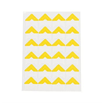 1 Sheet=24 pcs Corner Stickers Paper Photo Corner Stickers for Scrapbooking (Purple 1sheet) Sorrento Crafts 048012002