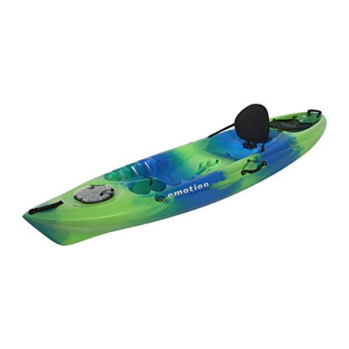 eMotion Temptation Sit-On-Top Kayak, Blue Green, 10 3