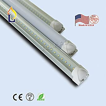 50 pack) Pipe Lighting fixture Wholesale 40W Smd2835 2400mm Economic ...