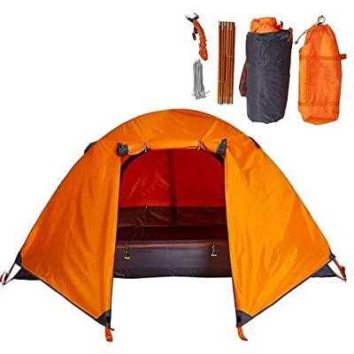 LamoreStore Attractive Relax Hiking Holdiay Beach Outdoor Lightweight Portable Single Person Easy Setup Tent with Carry Bag Garden Outdoor Yard: Garden & Outdoor