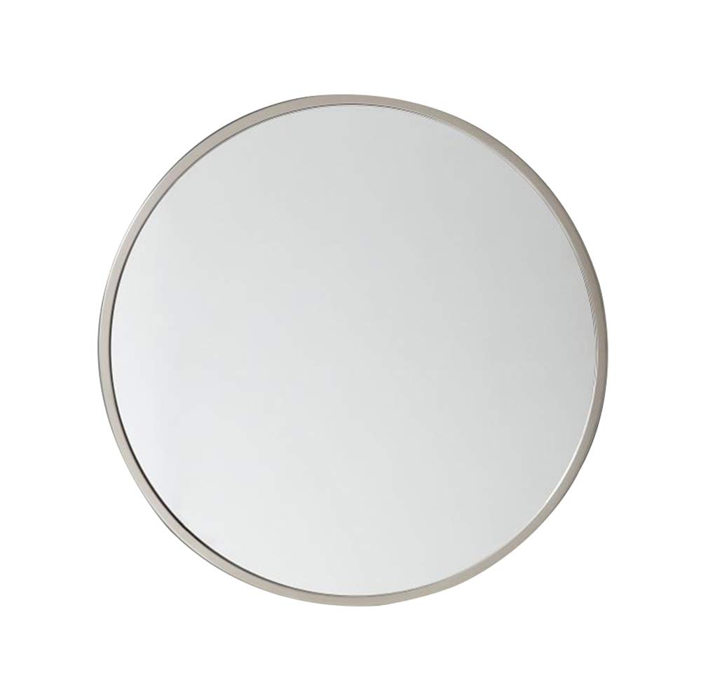 White 60CM Bathroom mirror, Bathroom Sink Round - Wall Hanging - Dressing Makeup Mirror