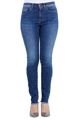 Pinko Jeans Pre Blu Blue Fujico Black F90 45 coll rrqwvA
